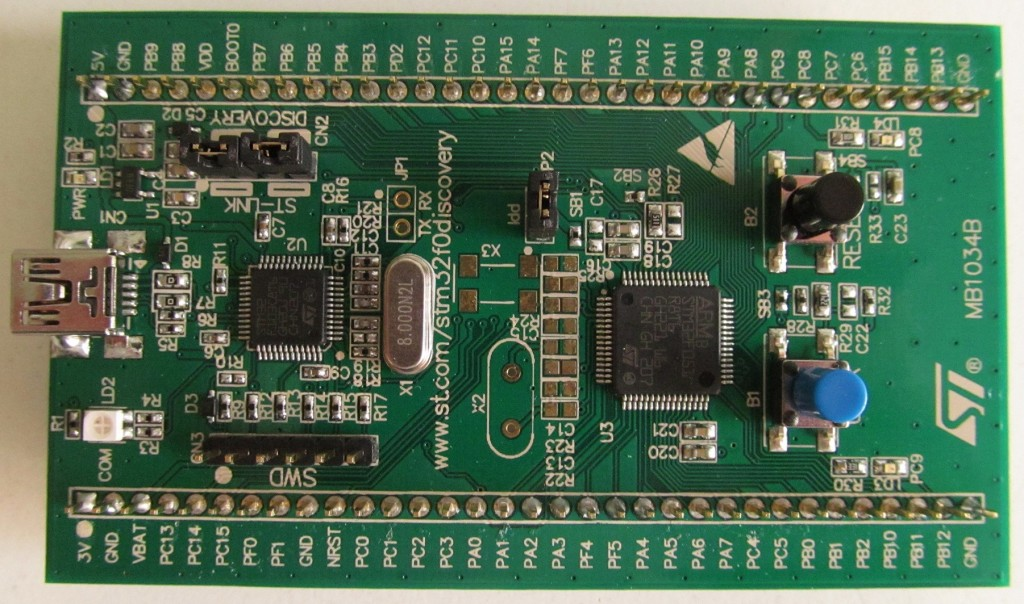 STMicroelectronics STM32F0-Discovery Board