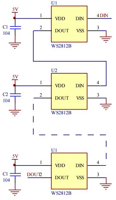 ws2812_cascade